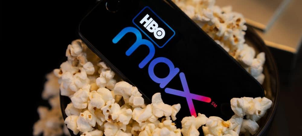 Logo do HBO Max na tela do smartphone.