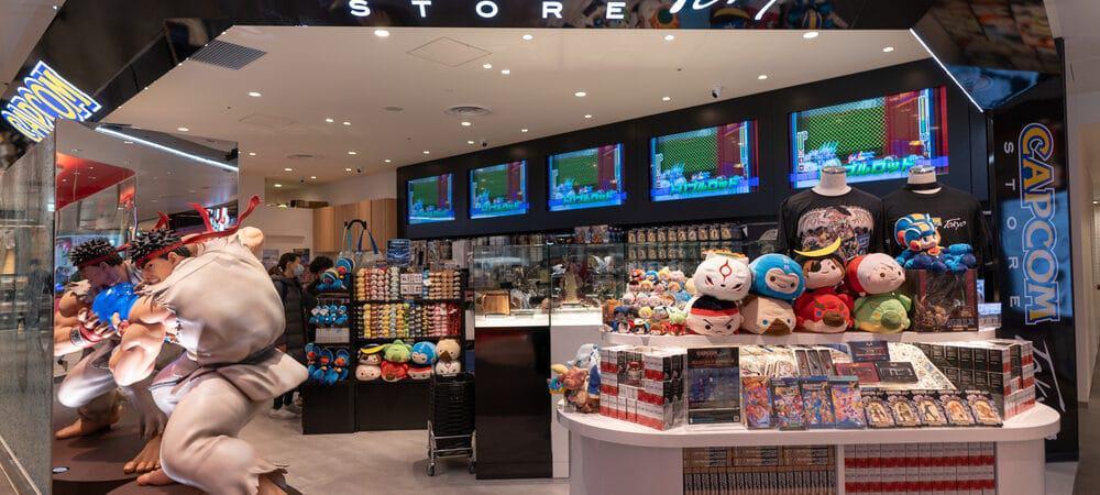 Loja da Capcom em Tóquio