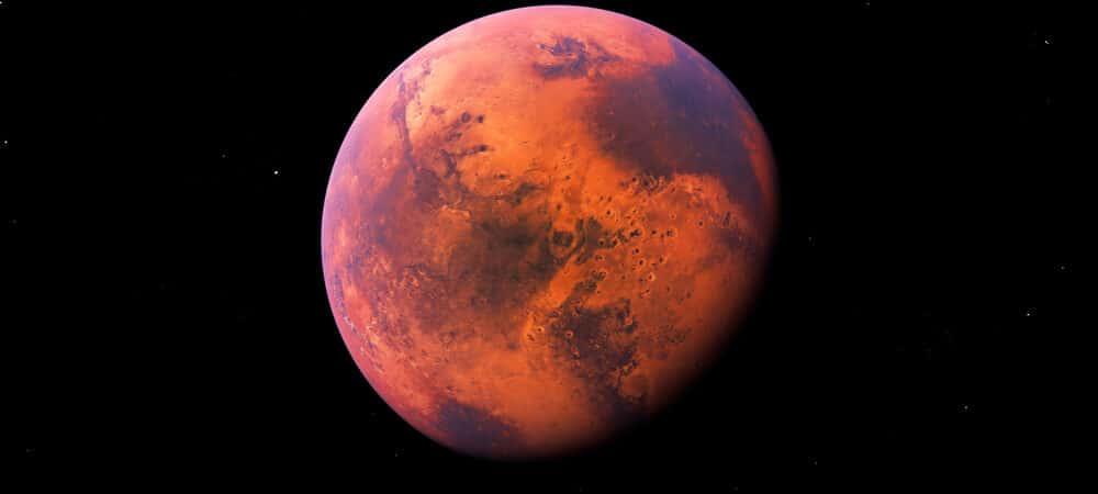 Oxigênio em Marte pode ser viável