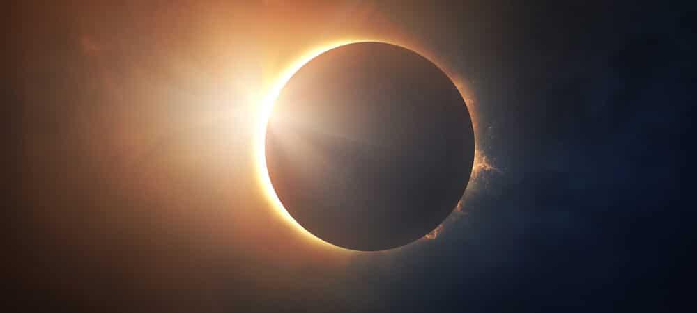 Eclipse solar acontece nesta segunda-feira