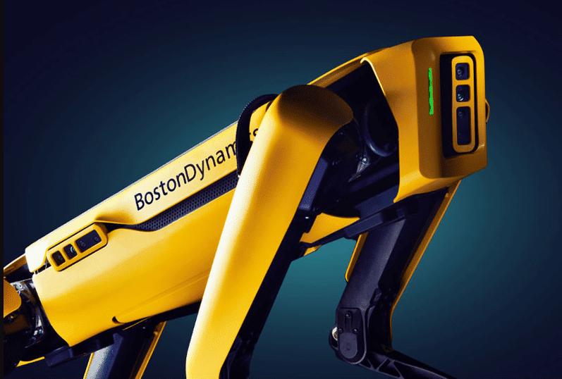robôs da boston dynamics spot