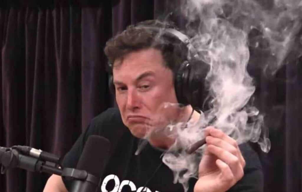 Elon Musk y su cigarrillo de marihuana. Pérdida de US $ 5 millones para los contribuyentes estadounidenses