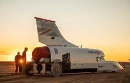 Projeto de carro-foguete busca novo investimento de US$ 11 milhões