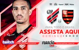Athletico-PR x Flamengo: saiba como assistir ao jogo do Campeonato Brasileiro pela Twitch