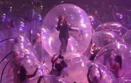 """Show dentro de bolha? Flaming Lips faz concerto com público """"isolado"""" nos EUA"""