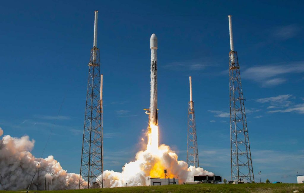 Launch of a Falcon 9 rocket