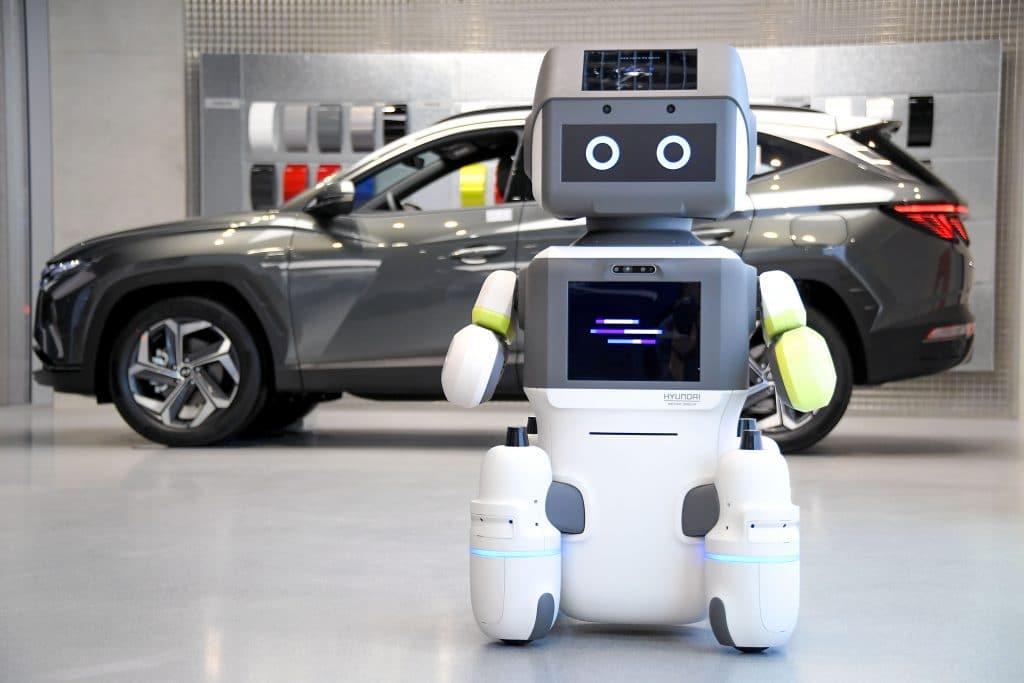 Robot humanoide Hyundai mostrado en CES 2021