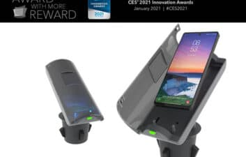 CES 2021: cell phones cleaned at home and in transit