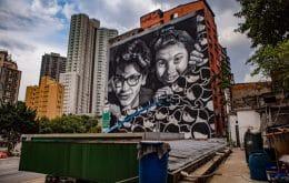 São Paulo ganha grafite de 800 m² com realidade aumentada