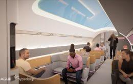 Vídeo mostra como será o trem ultrarrápido da Virgin Hyperloop