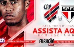 Athletico x São Paulo: saiba como assistir ao jogo do Campeonato Brasileiro pela Twitch