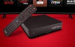 Claro Box TV: equipamento reúne programação 4K e streaming de conteúdo mediante assinatura
