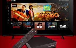 Claro Box TV: equipamento reúne programação 4K e streaming de conteúdo
