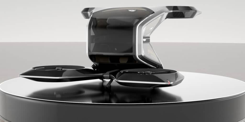 Individual electric drone, from Cadillac GM