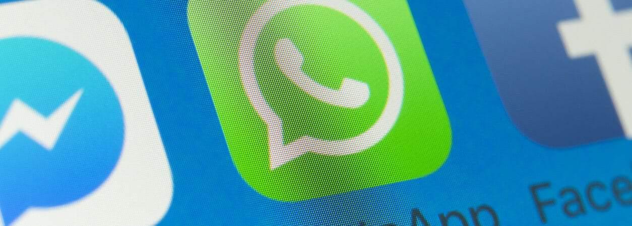 WhatsApp beta exibe