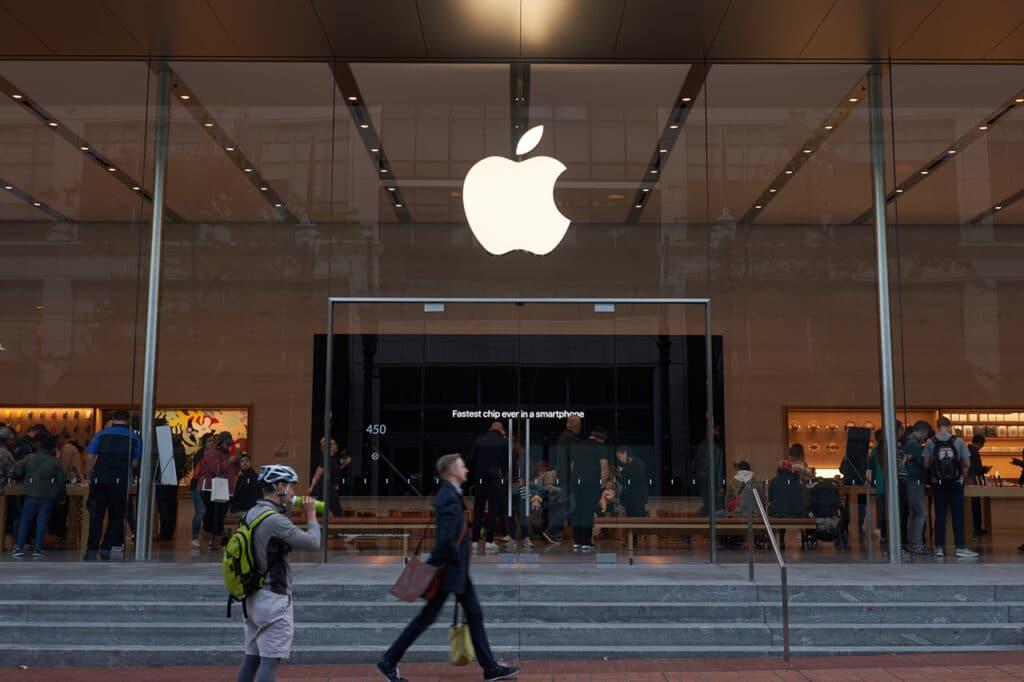Fachada da Apple