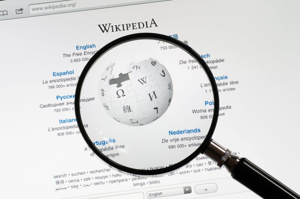 Website do Wikipédia