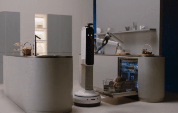 CES 2021: Samsung's new robot tidies the user's home