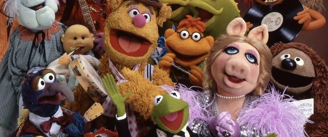 Bonecos da série 'Os Muppets'