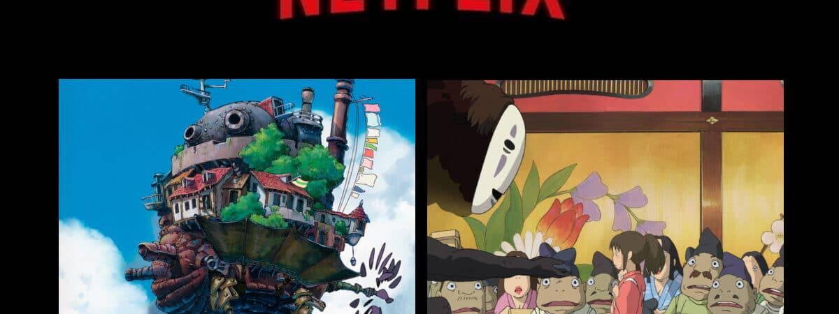 Os melhores filmes do Studio Ghibli na Netflix