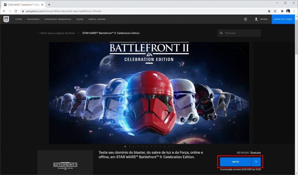 """Como baixar """"Star Wars Battlefront II"""" de graça no PC - Passo 2"""