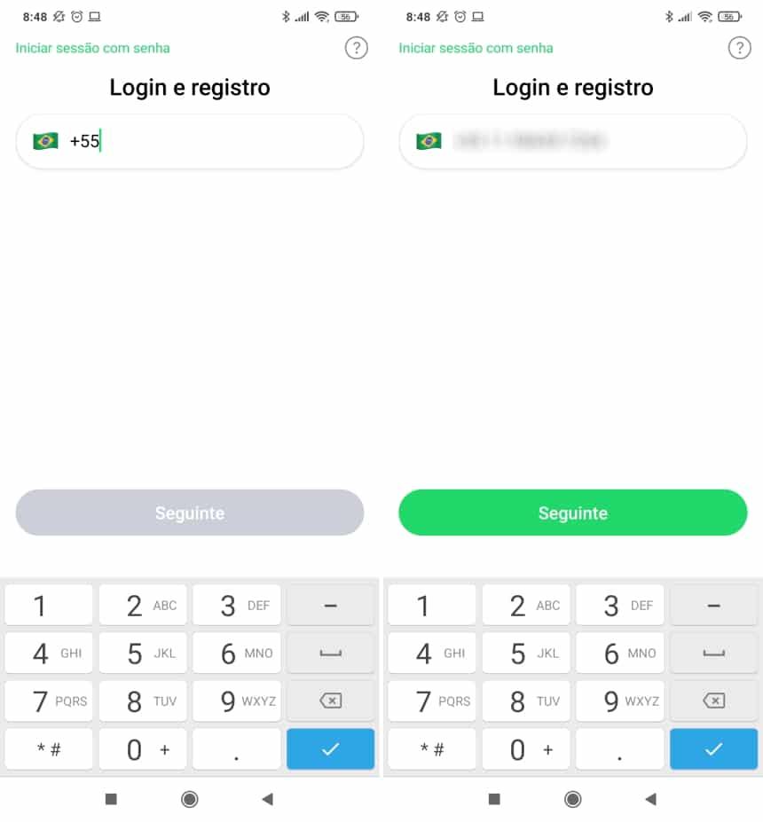 Cómo instalar y usar ICQ en dispositivos móviles - Paso 2