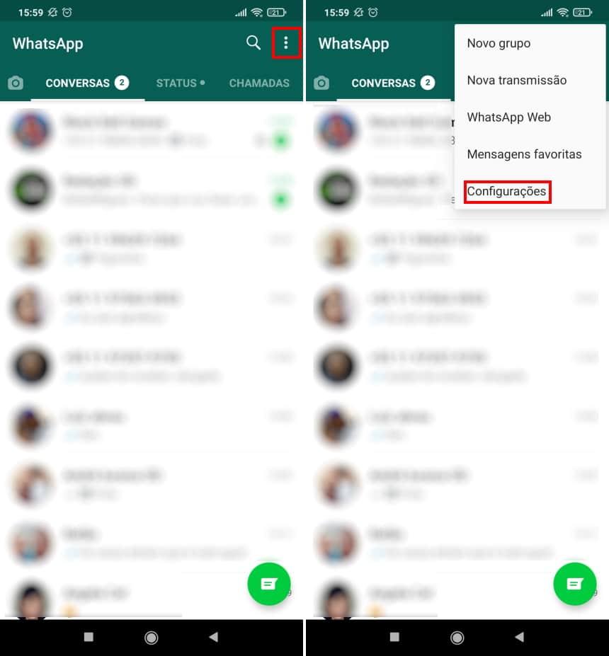 Como fazer uma cópia de segurança das figurinhas do WhatsApp - Passo 4