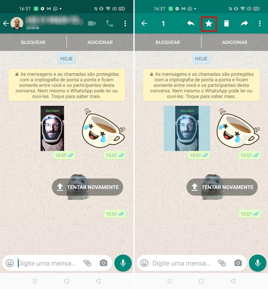 Como fazer uma cópia de segurança das figurinhas do WhatsApp - Passo 7
