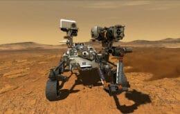 Perseverance começa missão em busca de vida no planeta Marte