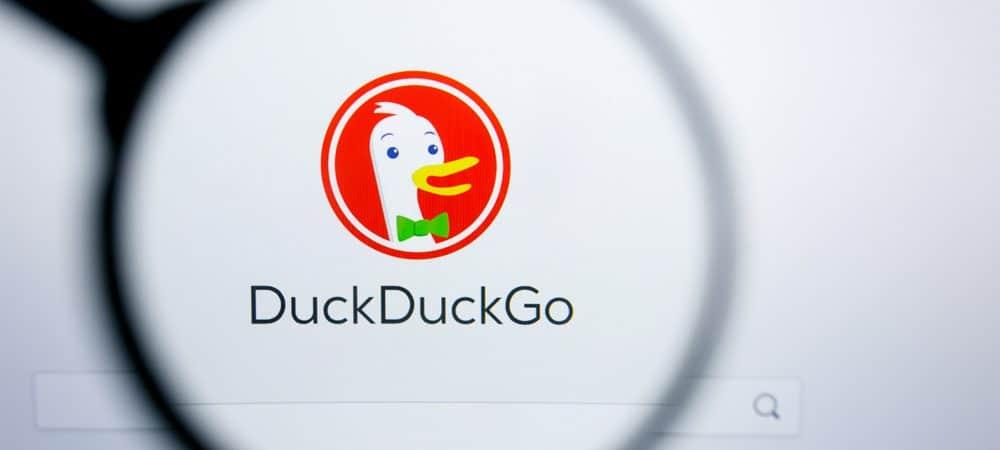 marca do buscador e navegador duckduckgo