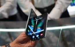 Novos celulares dobráveis da Samsung terão proteção contra água e poeira