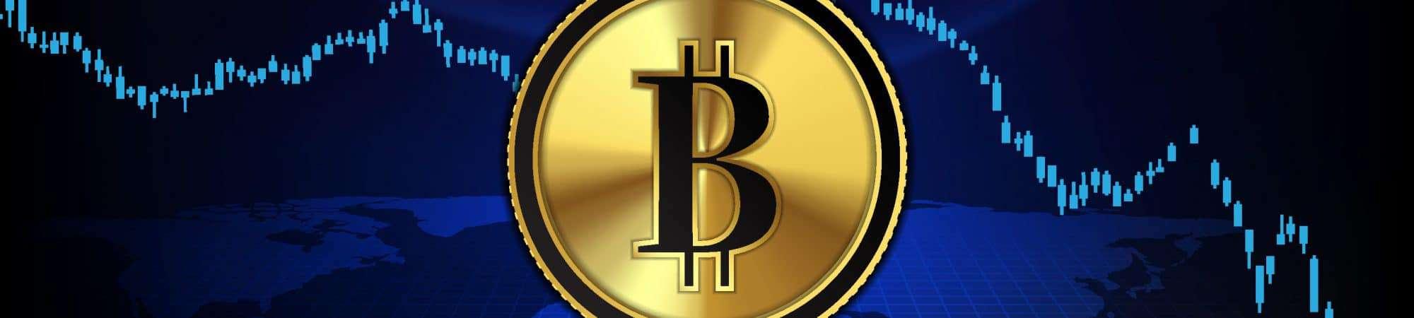 Bitcoin enfrenta queda acentuada