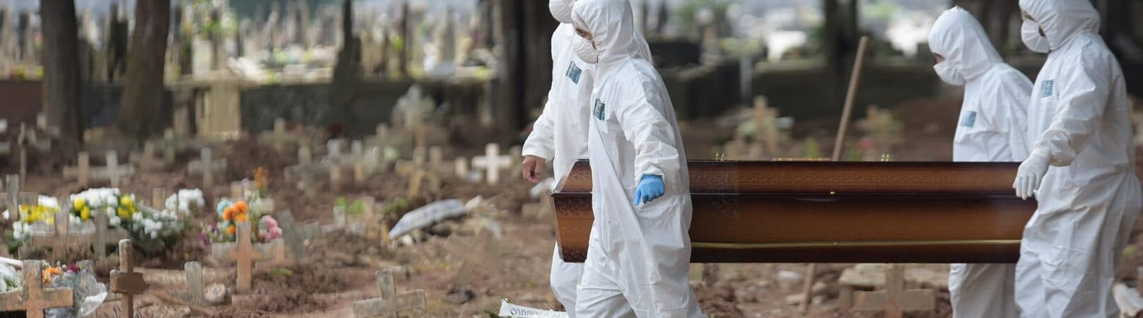 Covid-19 coronavírus pandemia mortes