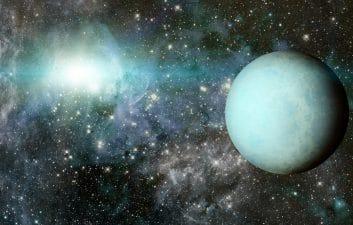 "Uranus is ""vomiting"" x-rays; origin of the shots is unknown"