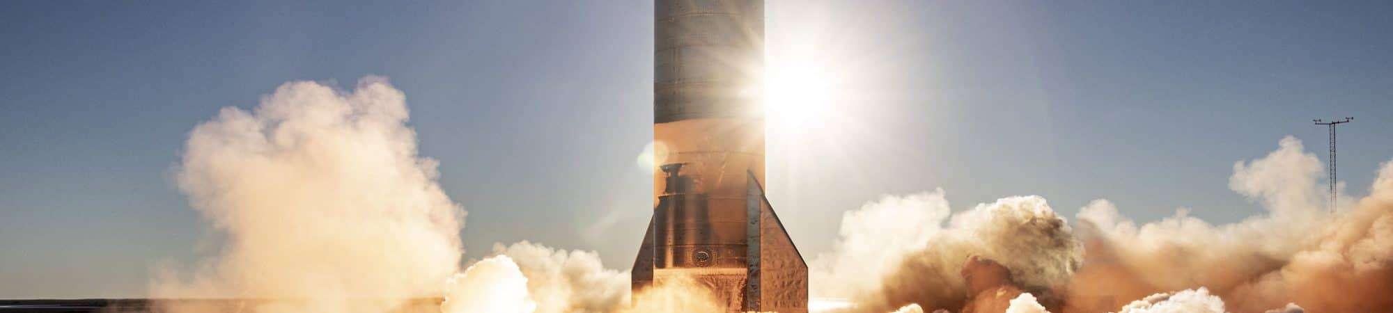Lançamento da Starship SN8