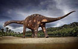 Titanossauro descoberto na Argentina pode bater recorde de maior animal terrestre da história