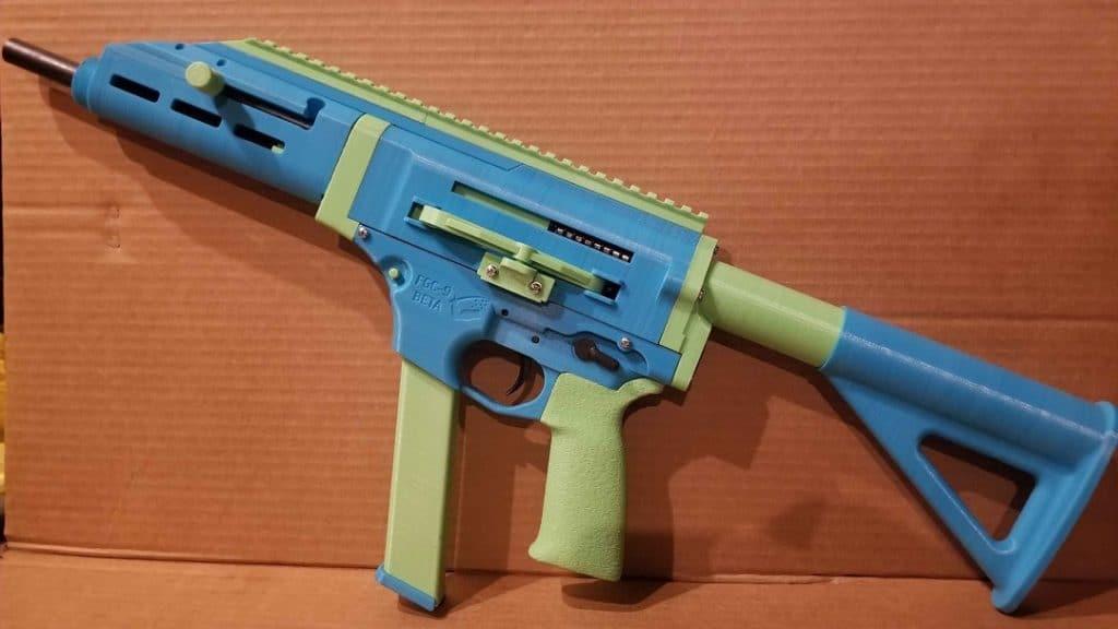 Pistola impresa en 3D