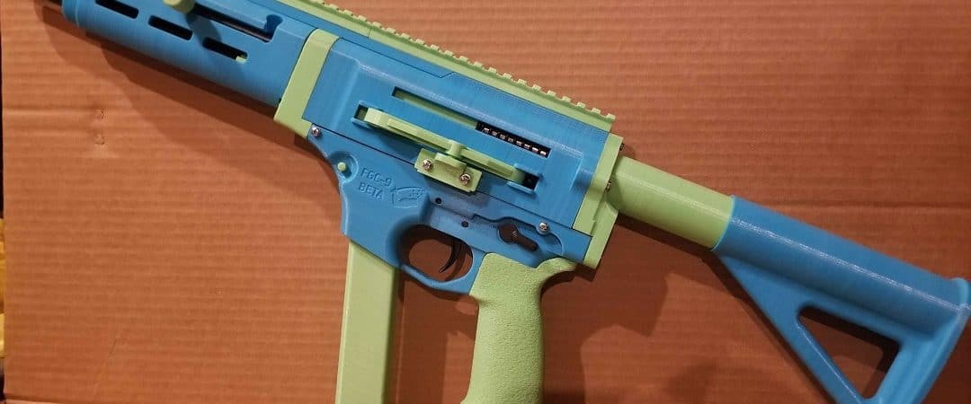 Arma impressa em 3D