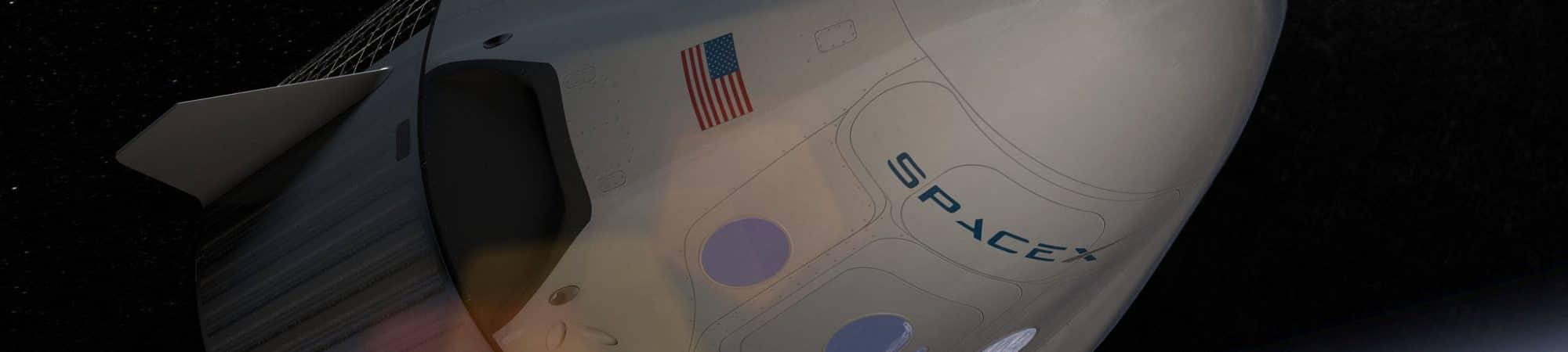 Cápsula Crew Dragon da SpaceX