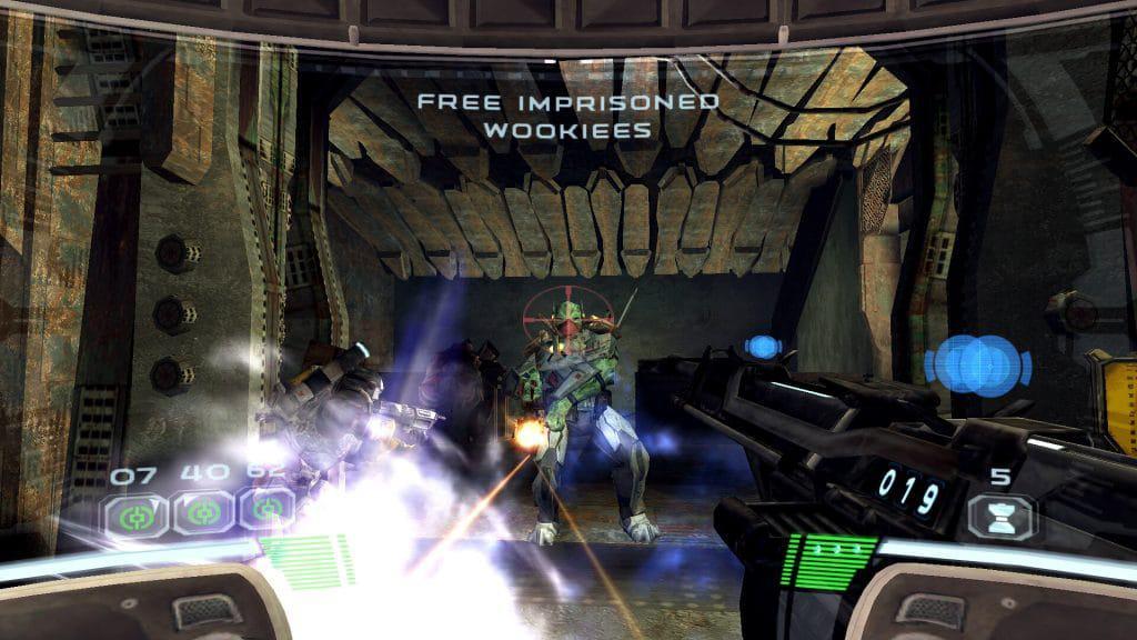 """Imagem de """"Star Wars: Republic Commando"""", jogo lançado em 2005 e que ganhará nova versão para PlayStation 4 e Nintendo Switch"""