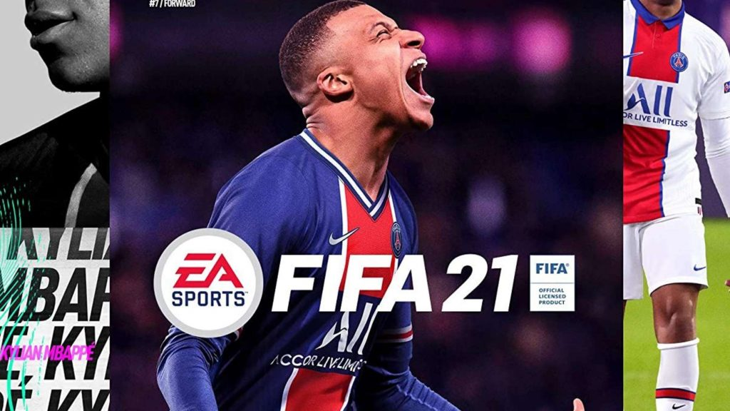 Material promocional do 'Fifa 21' tem o jogador francês Kylian Mbappé