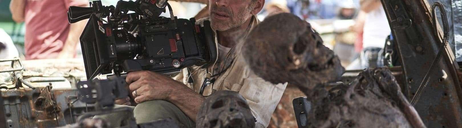 Director Zack Snyder. Image: CLAY ENOS / NETFLIX © 2021