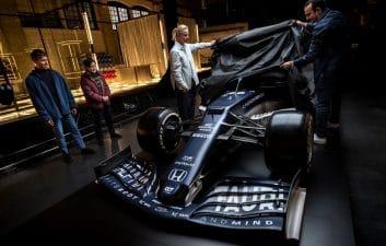 AlphaTauri presenta su coche para la temporada 2021 de Fórmula 1