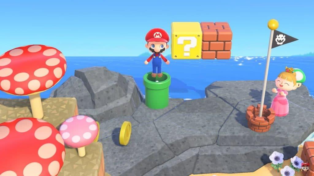 Animal Crossing Super Mario Bros