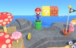 """""""Animal Crossing"""" ganhará itens inspirados em """"Super Mario Bros."""""""