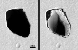 Another Mars mystery: NASA finds 180-meter well