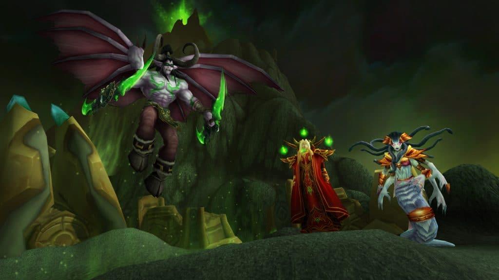 Os vilões de World of Warcraft Classic: The Burning Crusade.
