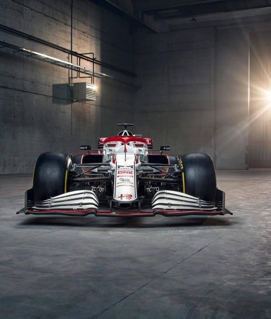 carro da Alfa Romeo, o c41