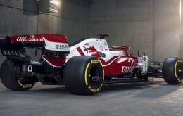Alfa Romeo apresenta seu carro para a temporada 2021 da Fórmula 1