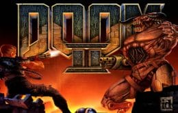 Fã recria cenas de 'Doom 2' com papelão
